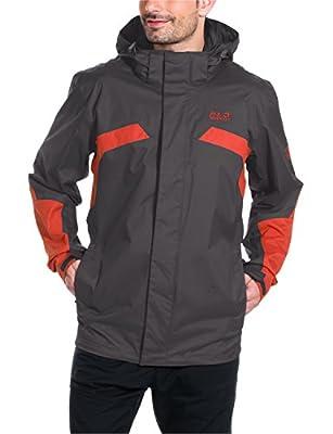 Jack Wolfskin Herren Wetterschutz Jacke Topaz Jacket II von Jack Wolfskin bei Outdoor Shop