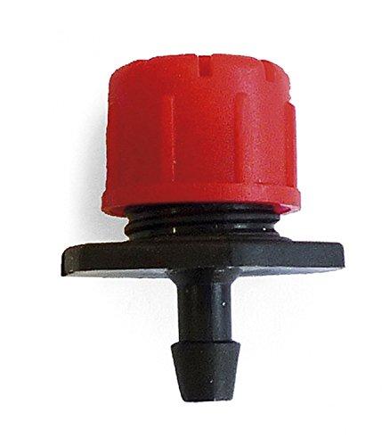 HidroRain VARIFLOW-25 - Goutte à Goutte à débit Ajustable 0-50 l/h, 15 x 10 x 14 cm, Couleur Noire
