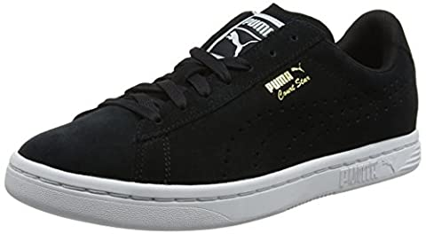 Puma Court Star Suede, Sneakers Basses Mixte Adulte, Noir (Black), 44 EU