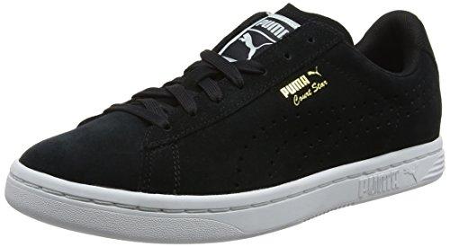 Puma Unisex-Erwachsene Court Star Suede Sneaker, Schwarz Black, 38.5 EU