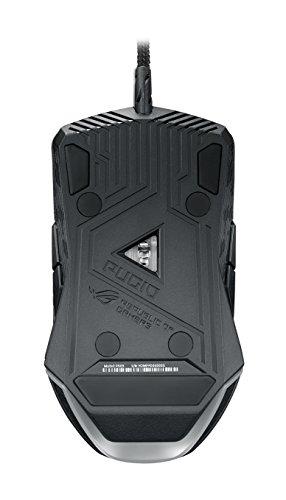 ASUS ROG Pugio - Ratón para gaming con cable (USB 2.0, sensor óptico de 7200 DPI)