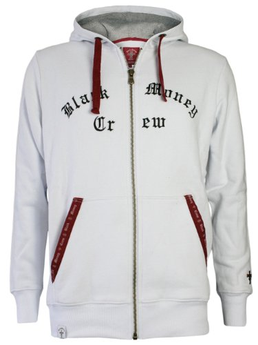 Black Money Crew Homme Designer Hoodie Veste - BMC -S