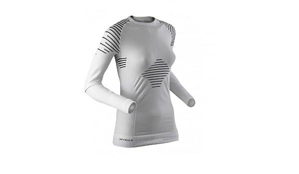 X-Bionic Lady Invent Uw Shirt Long/_Sl Donna Nero//Antracite XL