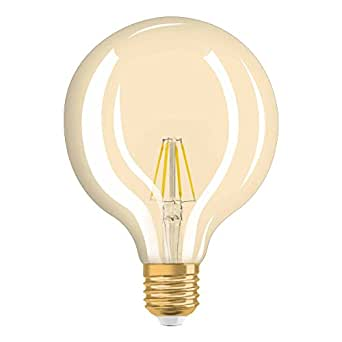 osram vintage edition 1906 ampoule led filament forme globe culot e27 dimmable 7w. Black Bedroom Furniture Sets. Home Design Ideas