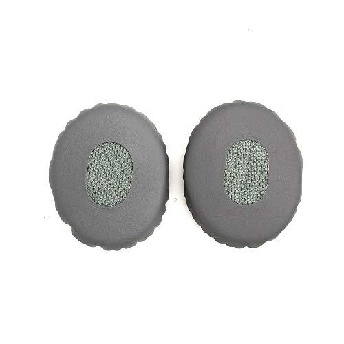 Shinecozy Premium Kopfhörer Eiweiß Leder Schaumstoff Ohr Polster, Headset Ohr Pads Ersatz Austausch Reparatur Teile(Für Bose OE2 OE2i On Kopfhörer grau)