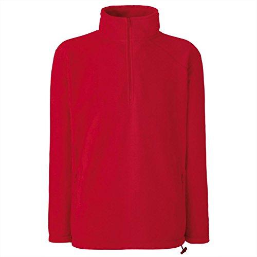 Fruit of the Loom Herren Sweatshirt Red