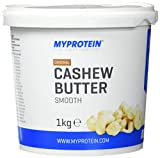 Myprotein Natural Cashew Butter Unflavoured, 1er Pack (1 x 1 kg)
