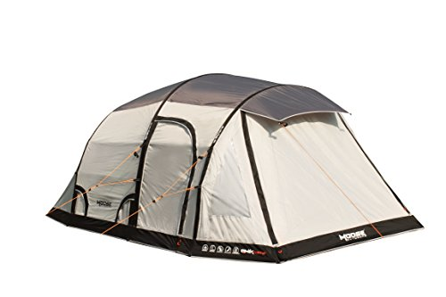 3 man inflatable grey/silver extreme air tent with qwik frame - inflates in 3 minutes