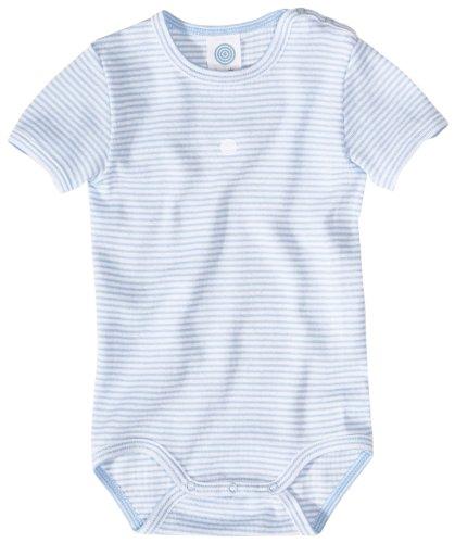 Sanetta 320420 Baby - Jungen Babykleidung/ Unterwsche/ Bodys, Gr. 80 (hellblau) (hellblau)