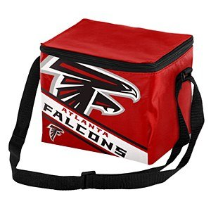 Atlanta Falcons Big Logo Stripe 12 Pack Cooler