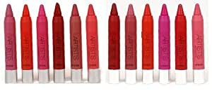 New Me Now Artist's Crayon Lipstick (set of 12) - all different and New shades S3