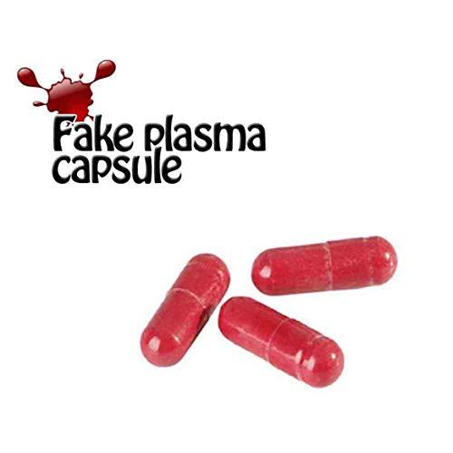 (Dfhffghfdgjfh Leichte Halloween Gefälschte Blutplasma Rotes Blut Blut Pille Cosplay Party Horror Lustige Prop Trick Spielzeug (rot))