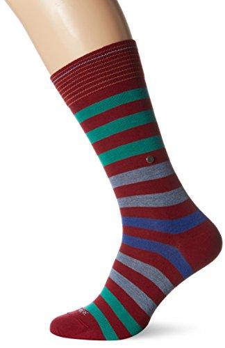 Burlington Herren Socken Blackpool Mehrfarbig (Wine 8010)