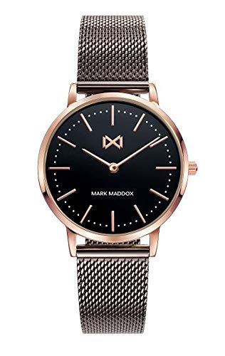 Mark Maddox Women's Watch with Black Strap and Black Display MM7115-57