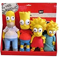 United Labels 4 Peluches Simpsons