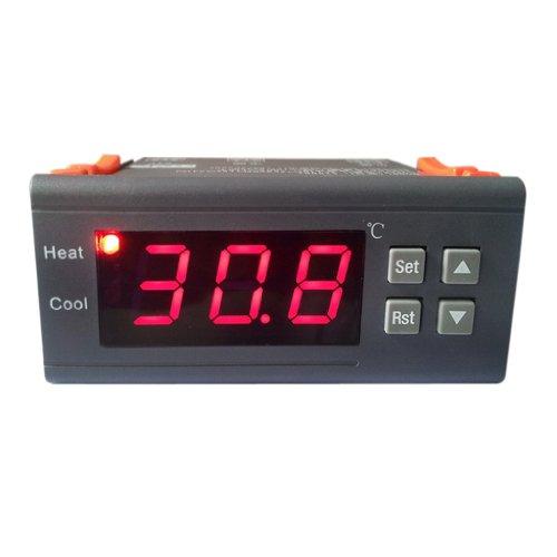 12V Digital LED Contrôleur de Température Thermostat avec Capteur MH1210A