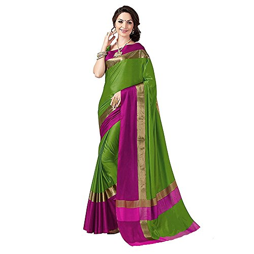 Sarees (for Women Party Wear offer Designer Sarees New Collection Today Low Price Sarees in Multi-coloured Cotton Silk Material Latest Saree With Designer Blouse Free Size Beautiful Bollywood Sarees W