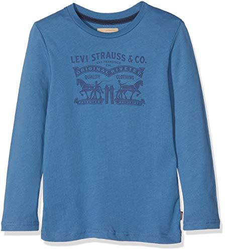 Levi's kids tee-shirt nm10187, t bambino, blu (navy blue 49), 12 anni (taglia produttore: 12a)