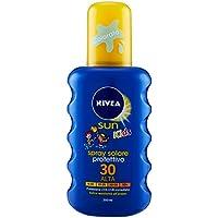 Nivea Sun Kids Spray Solare Protettivo Bambini FP30, Protezione Alta, 200 ml