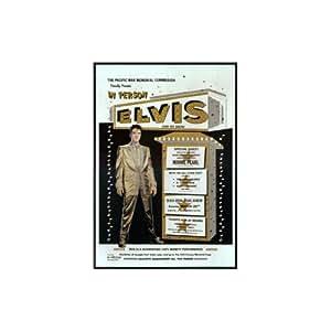 Plaque emaillee Elvis Presley Motif: My Person