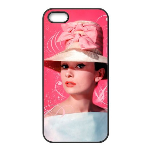 LP-LG Phone Case Of Audrey Hepburn For iPhone 5,5S [Pattern-6] Pattern-2