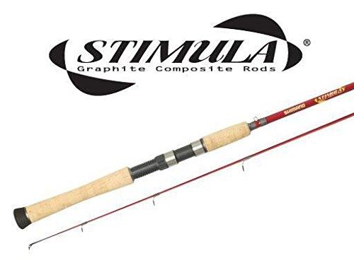 Shimano Stimula 2-Piece Spin Rod (6-Feet 6-Inch Medium Heavy) - Stimula Spin Rod (Casting Jigging Rod)