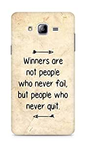 AMEZ but people who never quit Back Cover For Samsung Galaxy ON7