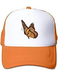 dfegyfr Cartoon Butterfly Adjustable Sports Mesh Baseball Tapas Trucker Cap Sun Hats Design26