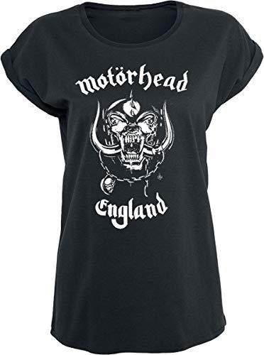 Motörhead England Camiseta Mujer Negro M