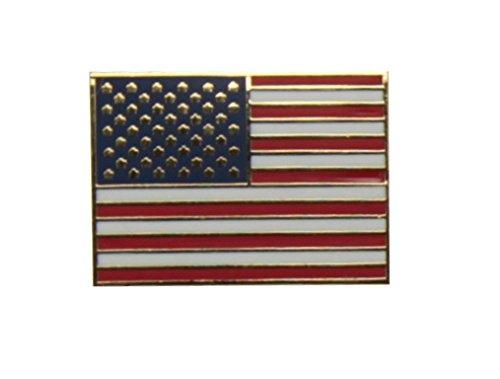 Yantec Flaggenpin USA rechteckig Pin Flagge