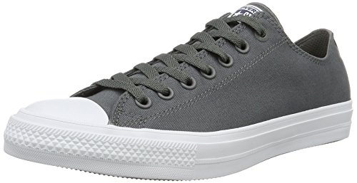 Converse Ct Ii Ox, Sneakers Homme Gris (Thunder/white/navy)