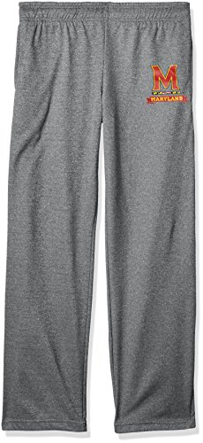 Old Varsity Brand NCAA Herren Herren Poly Hose, Herren, Poly Fleece Pant, Dunkles Erika, X-Large Varsity Fleece Hose