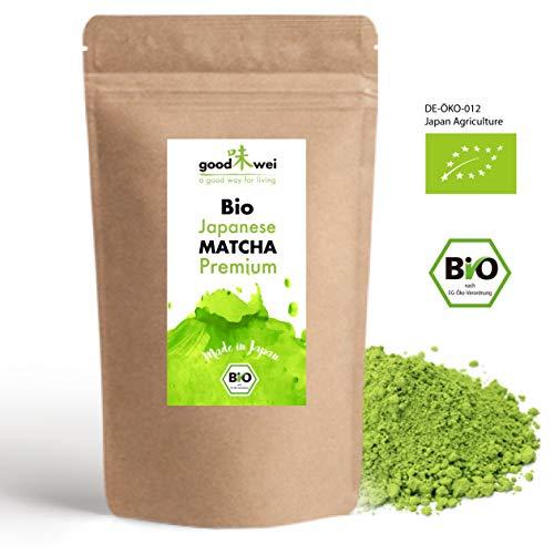 Original japanischer Bio Matcha Tee Premium