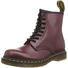 Dr. Martens 1460, Botas Unisex, Rojo (Cherry Red Smooth), 38