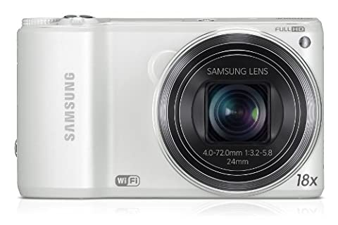 Samsung WB250F Smart-Digitalkamera (14,2 Megapixel, 18-fach opt. Zoom, 7,6 cm (3 Zoll) LCD-Display, bildstabilisiert, Full HD Video, WiFi) weiß
