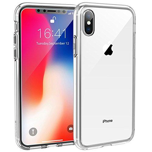 Syncwire cover iphone x ultrarock custodia per iphone x protezione avanzata contro le cadute con tecnologia a cuscinetto d'aria per apple iphone x/10 (2017) - trasparente cristallino