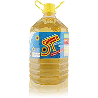 Sunpure Oil - Sunflower, 5L Can