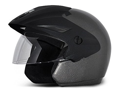 Vega Cruiser CR-W/P-A-M Open Face Helmet (Anthracite, M)
