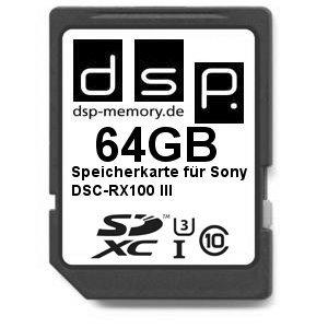 dsp-memory-z-4051557427181-64gb-ultra-high-speed-speicherkarte-fur-sony-dsc-rx100-iii-digital-kamera