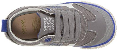 Geox - JR Kilwi Boy - Sneakers Basses - Garçon Gris (Grey/Royalc0069)