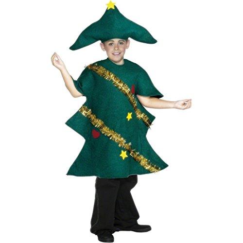 Imagen de disfraz infantil de árbol de navidad niños traje carnaval abeto árbol navideño alternativa