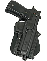 Fobus nouveau report déguisé étui de pistolet de rétention étui pour Beretta 92/96 sauf Brigadier, Vertec & Elite / cs 92 Taurus PT, PT99 / Feg P9R cas de polymère noir