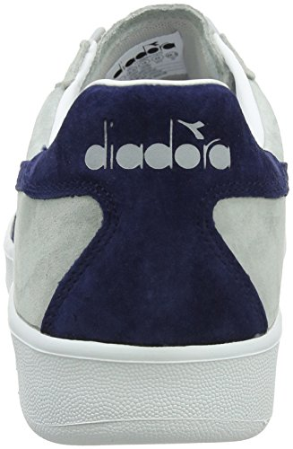 Diadora B.Elite Nub, Chaussures de Gymnastique Homme Gris (Gr Ghiacciaioblu Estate)