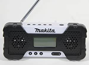 Makita MR051W 10,8V Radio Li-Ion weiß, Mehrfarbig