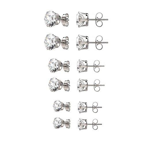 besjewel-6-pairs-diamond-stud-earrings-for-women-316l-surgical-stainless-steel-earrings-3mm-5mm-diam