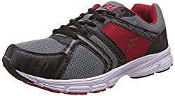 Fila Mens Extremer Black and Red Running Shoes - 6 UK/India (40 EU)