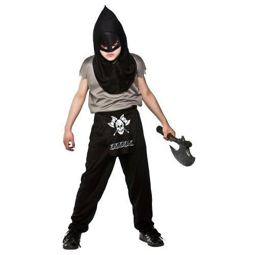 (S) Jungen Henker Halloween Kostüm für Fancy Kinder Childs kleinen Alter (Dress Henker Kostüm Fancy)