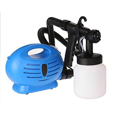 KKmoon 800Ml 650W PulverizadorPistola RociadoraPintura Eléctrica Profesional de Hvlp Herramienta Bricolaje para Barniz RápidoCerca PinturaUso Interior Al Aire Libre