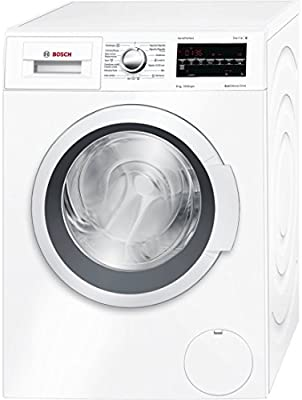 Bosch Serie 6 WAT24468ES Independiente Carga frontal 8kg 1200RPM A+++-30% Color blanco - Lavadora (Independiente, Carga frontal, Color blanco, LED, Rojo, Izquierda)