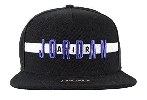 Concord Hat (Nike JR Air Snapback Hat Black/Concord)